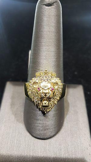 LION HEAD GOLD RING for Sale in Phoenix, AZ