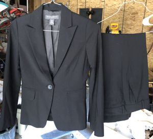 Banana Republic women's black pant suit - size 0 for Sale in Fort Worth, TX