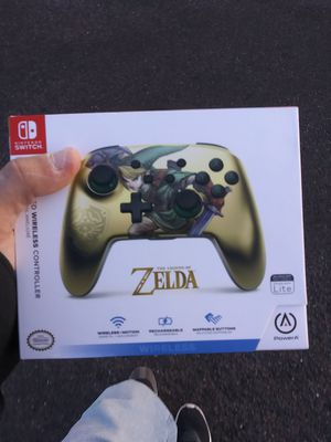 Nintendo switch bluetooth controller (Zelda edition) for Sale in Payson, AZ