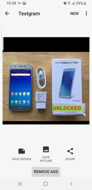 Samsung Galaxy J7 star brand new unlocked for Sale in New York, NY