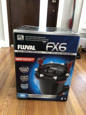 Fluval FX6 Aquarium Canister filter for Sale in Miami, FL