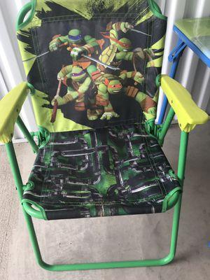 Tmnt kids foldable chair for Sale in Oak Point, TX
