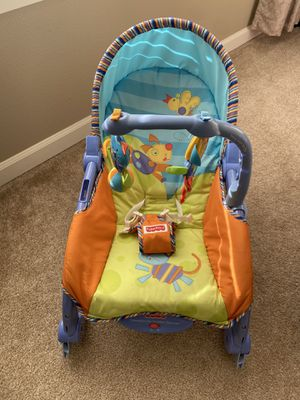 Fisher Price Baby Swing +Rug for Sale in Battle Ground, WA