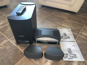 Bose 321 system in new condition very cheap for Sale in Surprise, AZ