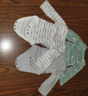 Newborn baby bodysuits for Sale in Trenton, NJ