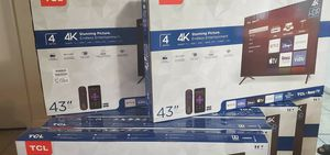 """TCL 43"""" ROKU for Sale in Orlando, FL"""