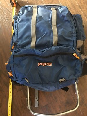 Jansport Scout Hiking Camping Blue External Frame Backpack for Sale in Wexford, PA