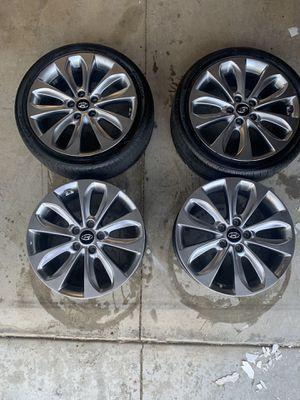 """Hyundai Sonata 2.0t 18"""" rims for Sale in Riverside, CA"""