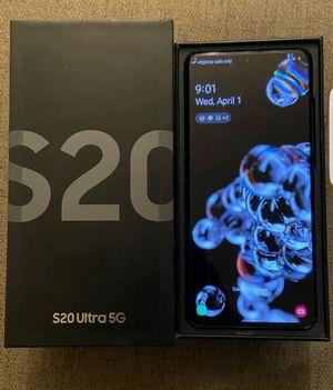 Galaxy s20 ultra 5G. (512 GB) Unlocked for Sale in Riverside, CA