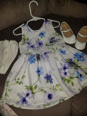 EASTER SPRING TODDLER DRESS for Sale in Visalia, CA