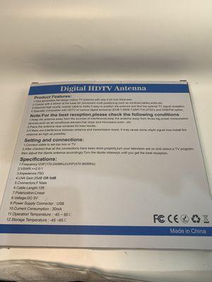 Digital HDTV antena for Sale in Glendale, CA
