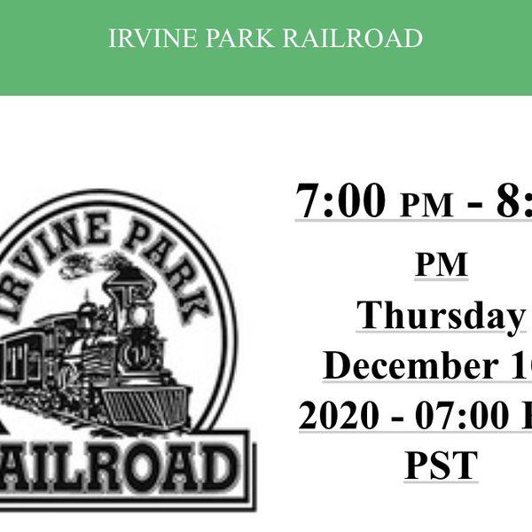 Irvine Christmas Train Tickets! 12/10 7pm