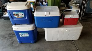 For all 5 coolers for Sale in Fresno, CA