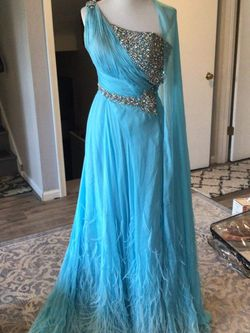 Baby Blue Gown for Sale in Chesapeake Beach,  MD