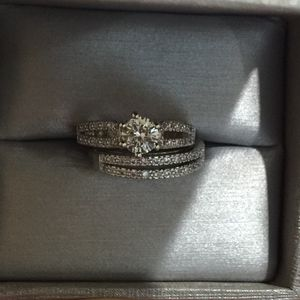 Gold plated ring band wedding engagement casual love ring size 6 for Sale in Silver Spring, MD