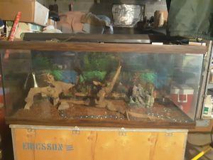 150 gallon fish tank for Sale in Bent Mountain, VA
