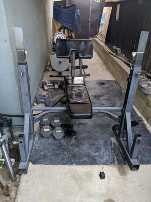 Bench with weights for Sale in Chino Hills, CA