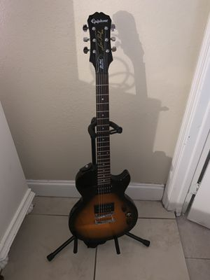 Epiphone Electric guitar with the stand for Sale in Hialeah, FL