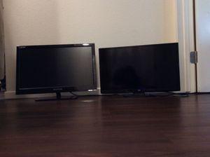 2 Small TV's - JVC & SCEPTRE for Sale in Oceanside, CA
