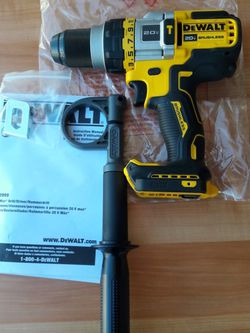 "DeWALT 20V Max Flex Volt Avantage 1/2"" Hammer Drill (Tool Only) for Sale in Los Angeles,  CA"