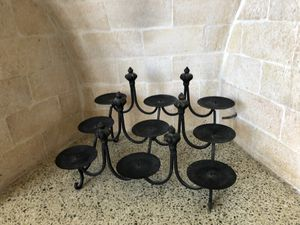 Black Iron Candelabra for Sale in Ocean Ridge, FL