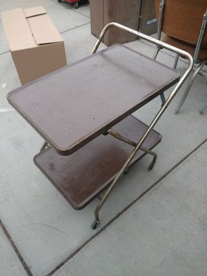 Vintage Foldable bar cart for Sale in Santa Maria, CA
