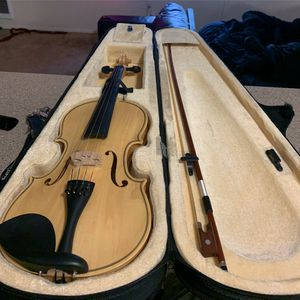 Handcrafted natural wood violin for Sale in Portland, OR