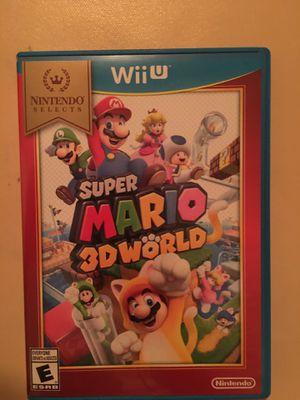 Nintendo Wii U super Mario 3D world for Sale in Visalia, CA
