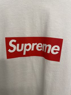 Supreme Box logo LS Tee White Size Medium for Sale in Germantown,  MD