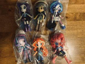 My Little Pony Equestria Girls Mini-Dolls Pack of 6 for Sale in Smithfield, RI