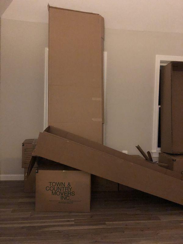 Free cardboard