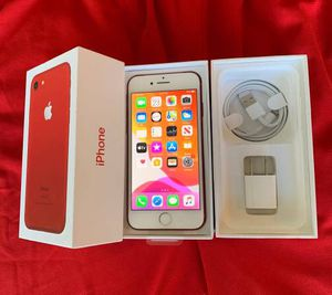 iPhone 7+ 128GB Apple Red for Sale in Aurora, IL