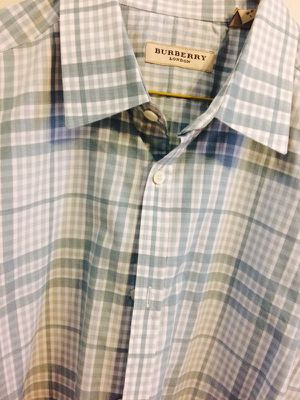 BURBERRY - signature plaid button down for Sale in Chicago, IL