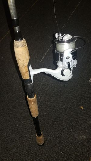"Bass fishing Pflueger rod and reel 6'6"" for Sale in Alexandria, VA"