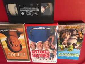 4 VHS kids movies for Sale in Tullahoma, TN