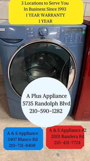 Kenmore Front Load Washer And Dryer Set 1 Year Warranty for Sale in San Antonio, TX