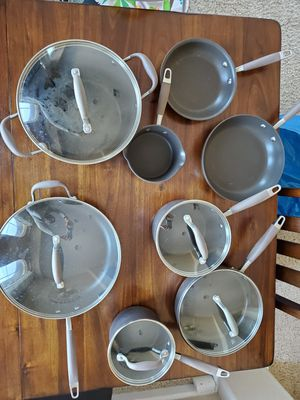 Analon cooking ware 14 piece set for Sale in Milpitas, CA