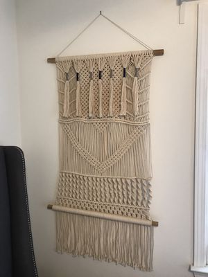 Handmade Boho Macrame Wall Decor for Sale in Atlanta, GA