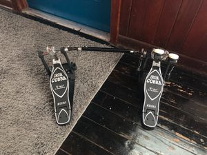 Iron cobra pedals for drum set for Sale in Tampa, FL