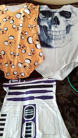 Blusas para Halloween de calavera robot for Sale in Riverside, CA