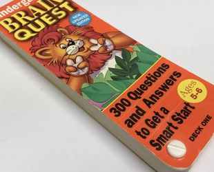 Brain Quest Kindergarten Ages 5-6 Deck 1. 300 Questions And Answers. Smart Start for Sale in Austin,  TX