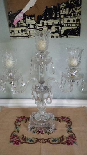 Crystal candelabra for Sale in Vancouver, WA