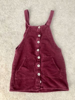 Short Red Overall Dress, Forever 21, Size Small for Sale in Rio Rancho, NM