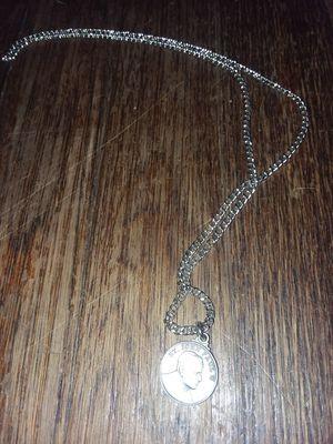 Silver Catholic Saint John Paul necklace for Sale in Saint Joseph, MO
