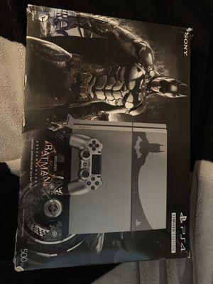 Limited edition Batman 500 GB PS4 for Sale in La Mirada, CA