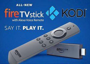 Jailbroken Amazon firestick w/ Alexa remote for Sale in Suffolk, VA