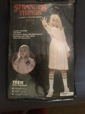 Stranger things costume kids 14-16 for Sale in Ellicott City, MD
