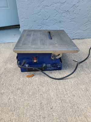 CTC550 Wet/Dry Tile Saw for Sale in Melbourne, FL