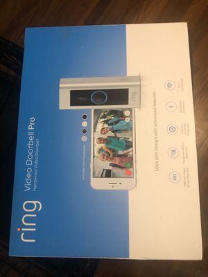 Ring doorbell pro for Sale in Garland, TX
