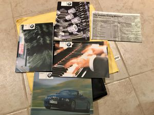 2003 BMW M3 Convertible Owners Manual - Complete w/ Bluetooth DVD Radio info for Sale in Stamford, CT